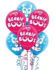 TY BEANIE BOO'S birthday party latex BALLOONS 6 helium quality 12 inches Slush