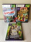 Xbox 360 Kinect Game Lot Of 3 Wipeout Adventures The Biggest Loser New