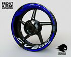 -  RIM STICKERS - Fits Suzuki SV650 Wheel Stripes Decals Liserets Graphics