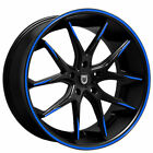 4 20 Lexani Wheels R Twelve Custom Color Rims B5