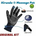 Hirundo Pet Grooming Gloves For Cats Dogs  Horses Pair
