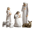 Willow Tree 26005 sculpted hand painted nativity figures 6 piece set
