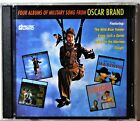 2-CD Four Albums of Military Song from Oscar Brand Wild Blue Yonder Cough! CLEAN