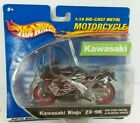 Hot Wheels 1:18 Motorcycle Die-cast Metal Kawasaki ninja ZX-9R