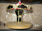 2004 Carousel Ride Display vintage moves with sounds with 2 ornaments--wall area