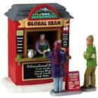 NEW 2019 Lemax Village Accessory Global Bean Coffee Kiosk XMAS Table Decor Gift