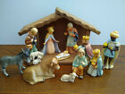 Hummel NATIVITY SET JESUS MARY JOSEPH 3 KINGS CRECHE DONKEY OX TMK7 MINT GOEBEL