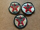 VINTAGE TEXACO MOTOR OIL GAS STATION PATCH LOT OF 3