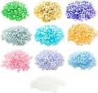 100 Cats Eye Glass Beads 4mm Assorted Lot Mixed Color Bulk Jewelry Supplies Mix