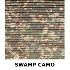 HYDRO-TURF Sheet 47X86 SWAMP CAMO Cut Groove WITH 3M Backing. Condition is New.