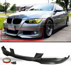 For 07 10 BMW 3 Series E92 Coupe 328 335 Mtech DTM Front PU Bumper Lip Spoiler
