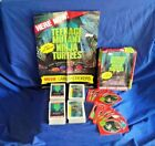 2 complete sets of the Topps 1990 Teenage Mutant Ninja TMNT Cards, Poster
