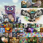 Owl Bird Full Drill Diamond Painting DIY Cross Stitch Kits Home Mosaic Gift US