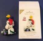 2009 Hallmark Christmas Once Upon a Holiday Snoopy Peanuts Gang Limited Edition