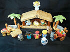 Fisher Price Little People Nativity Set Baby Jesus Mary Joseph Wisemen