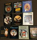 Lot Of 10 Stained Glass Design Books