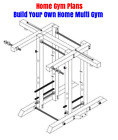 Build Your Own Wood Gym Equipment Home Gym Plans for Bodybuilding and Fitness