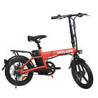 NAKTO 16 Folding Electric Bike 250W Ebike 36V 10Ah Collapsible Moped Bicycle
