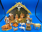 Fontanini by Roman Inc 13 Piece Nativity Set w Lighted Creche 5 Scale 5456412