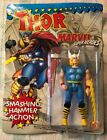 MARVEL Super Heroes THOR Action Figure Toy Biz 1991 New On Card ROUGH