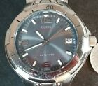 Guess Waterpro WR100m Watch Date Gray Dial 38mm Men's ~ NEW BATTERY