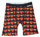 Wear Your Life by PSD Rainbow Hearts 2020 Men's Boxer Brief Sizes Small - 2XL