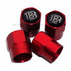 Hex Mercedes Brabus Amg Car Wheels Tire Air Valve Caps Stem Dust Cover Sport