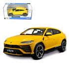 LAMBORGHINI URUS 124 Scale Diecast Car Model Die Cast Cars Models Yellow