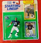Kenner Starting Lineup DONNELL WOOLFORD 1990 with 1989 Rookie Card CHICAGO BEARS