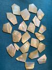 Mother of Pearl shell inlay 38oz 060 plus 26oz varied