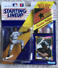 """1992 STARTING LINEUP FRANK THOMAS MLB Action Figure Kenner 1992 New On Card """"F"""""""