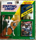 """1992 STARTING LINEUP TROY AIKMAN NFL ACTION FIGURE NEW ON CARD """"B"""""""