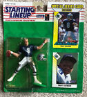 """1993 STARTING LINEUP TROY AIKMAN NFL Action Figure New On Card Kenner 1993 """"B"""""""