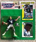"""1993 STARTING LINEUP TROY AIKMAN NFL Action Figure New On Card Kenner 1993 """"A"""""""