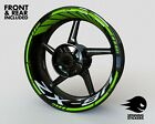 - RIM STICKER KIT - Fits Kawasaki Ninja ZX-9R Wheel Stripes Decals Tape