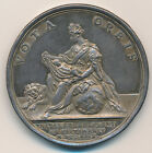 FRANCE BIRTH OF DAUPHINE LOUIS XV SILVER MEDAL 1729 NAMED ON EDGE CZ11041