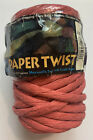 Paper Twist 1 Spool Paper Ribbon Red 25 Yards Maxwell Twisted Craft Paper 75 Ft