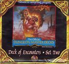 DECK OF ENCOUNTERS SET TWO SEALED Dungeon Master Decks Dungeons Dragons DD TSR