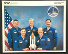 NASA Space Shuttle Discovery Crew Photo Mission STS 26 1988 USA Astronauts