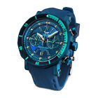 Vostok Europe Lunokhod 2 Grand Chrono 6S21-​620E278 in Blau mit Ersatzband