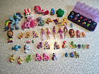 KIDS TOYS LOT for Girl MLP, BARBIE, CARE BEAR, HATCHIMALS FUNKO SHOPKINS Used