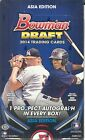 2014 Bowman Draft Asia Edition Sealed Hobby Box - 24 Packs - 1 Prospect Auto Per