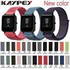 20mm Nylon Loop Woven Strap for Xiaomi Huami Amazfit Bip BIT Lite Youth Smart