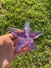 Hand Made Glass Art Creeping Starfish by John Gibbons  Signed