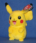 TY PIKACHU POKEMON BEANIE BABY - MINT with MINT TAGS -  UK EXCLUSIVE 6 INCH