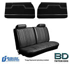 1970 Chevelle Coupe Front Rear Bench Seat Covers Door Panel Set Any Color