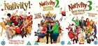 Nativity Trilogy Triple DVD Collection Nativity 1 Nativity 2 Danger in th