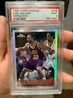 PSA 9 KARL MALONE TOPPS CHROME REFRACTOR 1996 TOUGH CARD ONLY ONE ON EBAY!