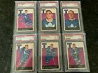 1962-63 Parkhurst Complete Set + Tally Card ALL PSA GRADED 7 TO 9