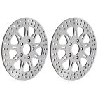 Front Brake Rotors for Harley Sportster 883 1100 Dyna Softail Touring 1340 FXR